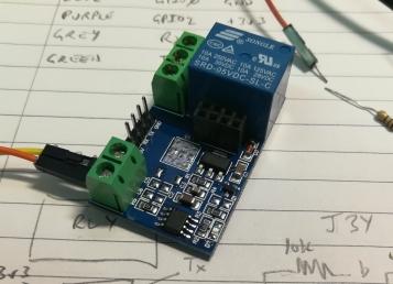 ESP8266 WiFi Relay