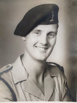 Taken in about 1950, on national service in Egypt